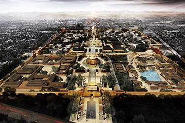 岐山周文化景区规划及重点文化建筑设计